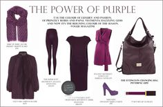 The Power of Purple - The Ettington Changing Bag