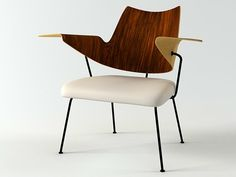 Robin Day Armchair for Royal Festival Hall 3d model | Robin Day