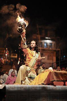 aarti, varanasi, india #hindu