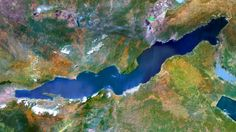 Lake Tanganyika is an African Great Lake. It is estimated to be the second largest freshwater lake in the world by volume, and the second deepest, in both cases, after only Lake Baikal in Siberia.