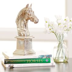 Silvestrin Horse Bust