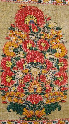 Buta on Shoulder Mantle. Kashmir. Mughal Dynasty. Mid 18th Century.