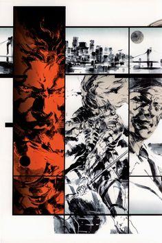 Yoji Shinkawa: Metal Gear Solid 2 Sons of Liberty ~ Synteza historii i sztuki