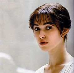 """""""Elizabeth Bennet was terrifying, because people love her, and I loved her, and women often see themselves as her. That was terrifying, because you're stepping into a fantasy realm, stepping into somebody's vision of what they want to be.""""      (Keira Knightley)"""