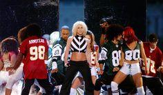 2003 - NFL Kick Off Concert #britneyspears #nfl