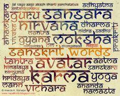 """Ananda Namaste"" is Sanskrit Devanagari inspired font, similar to properties of Devanagari calligraphic styles. Business Brochure, Business Card Logo, Sanskrit Font, Calligraphy Fonts, Marathi Calligraphy, Typography Fonts, Hand Lettering, Logo Restaurant, Script Type"