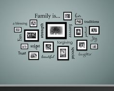 Family is... Wall Decal Family Decal by StephenEdwardGraphic