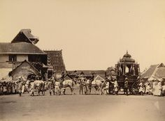 Travancore Maharaja's State Carriage in Trivandrum,1900 by msb1606, via Flickr