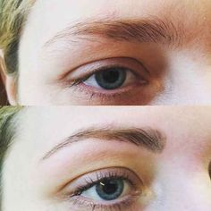Use a brow pencil to fill in your brows BEFORE you pluck so you don't overdo it.
