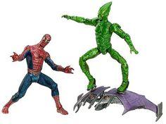 Spider-Man Origins Spider-Man vs. Green Goblin Action Figure Set