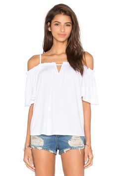 VAVA by Joy Han Kaitlin Top in White