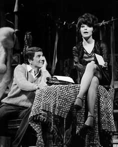Bert Convy and Jill Haworth in the original Cabaret in 1966 | The Official Masterworks Broadway Site