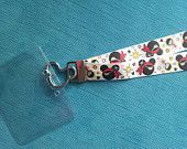 Disney Lanyard  - for KTTW - Disney Cruise -  DCL - Pirate Mickey - Non-scratchy - Child or Adult - pinned by pin4etsy.com