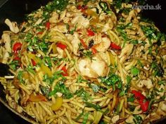 Pasta Noodles, Chicken Recipes, Food And Drink, Cooking Recipes, Meat, Ethnic Recipes, Vietnam, Lasagna, Macaroni