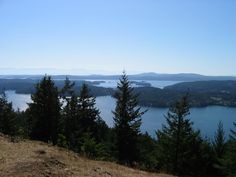 Hiking on Orcas Island, WA