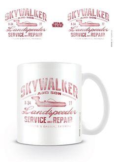 🌟 Nouveauté : Mug Skywalker And Son 12.90€🌟  ➡ http://ow.ly/FrTy304uk0Q ✔ en stock / expédié en 24h / Dispo en 1h sur Paris #StarWars