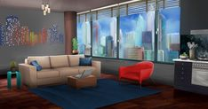 Landscaping Without Flowers Scenery Background, Living Room Background, Landscape Background, Animation Background, Episode Interactive Backgrounds, Episode Backgrounds, Cute Backgrounds, Casa Anime, Episode Choose Your Story