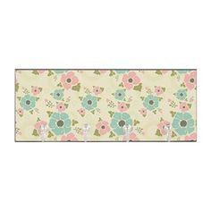 "Nostalgic flowers Key Hanger Beige seamless vintage pattern ""Nostalgic flowers""  $25.99"
