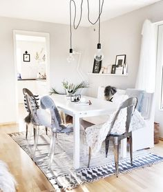 Clean, modern, fresh, light and quirky. This modern Nordic home is just beautiful