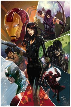 The Avengers - Black Widow by Peter Nguyen * Comic Book Characters, Comic Book Heroes, Marvel Characters, Comic Character, Comic Books Art, Comic Art, Book Art, Arte Dc Comics, Marvel Comics Art