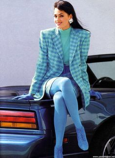 80s fashion (miniskirt) by retro-space, via Flickr