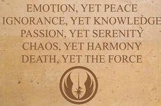 The original Jedi Code.