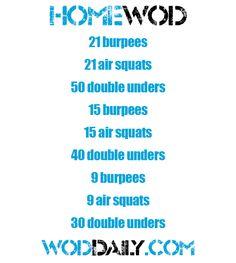 CrossFit WOD ~ Re-Pinned by Crossed Irons Fitness #crossfit #wods