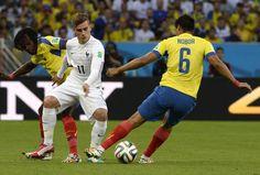 DESCANSO: Ecuador 0-0 Francia. #Mundial2014   #FRA on este resultado se asegura como lider de grupo. pic.twitter.com/vfMULg7XiN