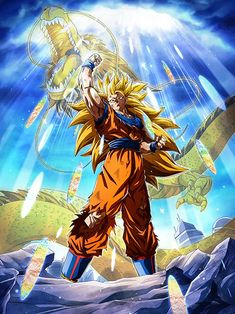 Goku Ssaiyanjin Ssj Anime Manga Dragon Ball Z Dragon Z Dbz