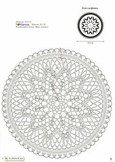 Crochet Doily Patterns with Diagrams - Bing Mandala Au Crochet, Crochet Snowflake Pattern, Crochet Sunflower, Crochet Snowflakes, Crochet Doily Patterns, Crochet Diagram, Crochet Patterns For Beginners, Crochet Chart, Thread Crochet