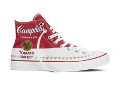 Next month, Converse will team up with the Andy Warhol Foundation to create this. Posted January 2015