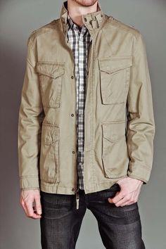 Marc New York/Andrew Marc - Edison  Khaki Jacket