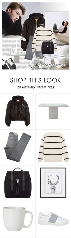"""""""Day by Day"""" by rainie-minnie ❤ liked on Polyvore featuring Oris, Vetements, Modloft, Comptoir Des Cotonniers, Brunello Cucinelli, Proenza Schouler, Juliska and Valentino"""