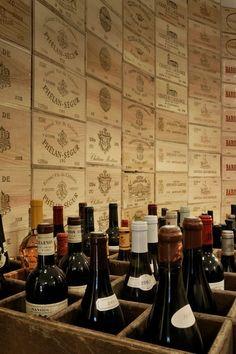 Caisses de #vin
