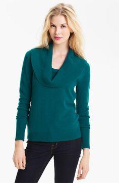 Halogen® Cowl Neck Cashmere Sweater | Nordstrom