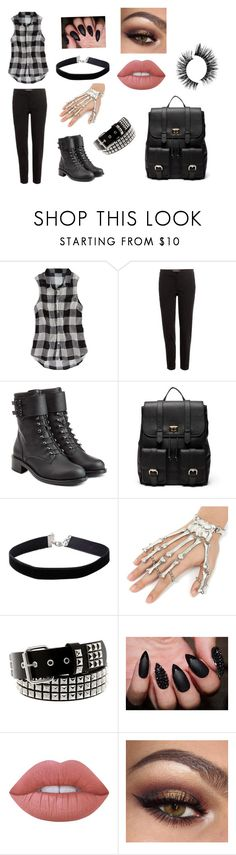 """""""Untitled #105"""" by ashtasia on Polyvore featuring American Eagle Outfitters, Etro, Philosophy di Lorenzo Serafini, Sole Society, Miss Selfridge and Lime Crime"""