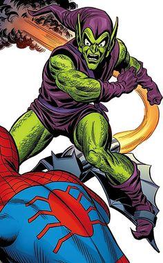 Green Goblin (Norman Osborn) (Marvel Comics) heralds the Bronze Age. From http://www.writeups.org/green-goblin-norman-osborn-marvel-comics-spider-man/