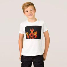 #Fire Spirit T-Shirt - #halloween #party #stuff #allhalloween All Hallows' Eve All Saints' Eve #Kids & #Adaults