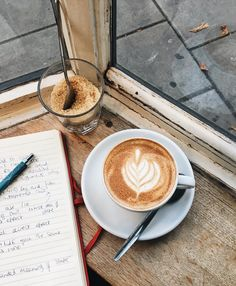 Go to your favourite cafe, order coffee, sit down and just pause But First Coffee, I Love Coffee, Coffee Break, Morning Coffee, Black Coffee, Frappuccino, Frappe, Coffee Reading, Coffee And Books