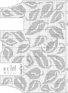 Fabulous Crochet a Little Black Crochet Dress Ideas. Georgeous Crochet a Little Black Crochet Dress Ideas. Filet Crochet Charts, Crochet Motifs, Knitting Charts, Crochet Stitches, Knitting Patterns, Black Crochet Dress, Crochet Blouse, Crochet Woman, Diy Crochet