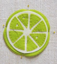 Citrus Coasters   Purl Soho