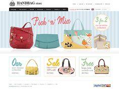 Handbag Store ZenCart Templates by Di