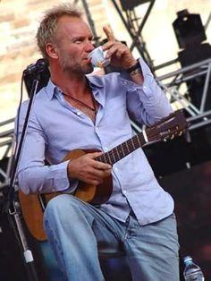 .. I take tea my dear... Sting knows how to refresh creativity!