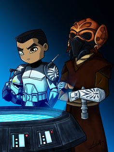 Mission Briefing | Plo Koon & Wolffe | Star Wars: The Clone Wars DeviantArt | Facebook I'm on some kind of Wolfpack/Wolffe/Plo kick lately apparently. Kind of an accident? I meant to do something/someone else after my last Plo's Bros piece, but I...
