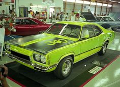 1970 Plymouth Duster RTS Show Car