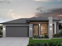 Our passion is to create unique homes that showcase outstanding design & superior craftsmanship. Browse our range of homes to build in South Australia. Modern Small House Design, Contemporary House Plans, House Outside Design, House Front Design, Facade Design, Exterior Design, House Plans South Africa, Modern House Facades, Exterior Paint Colors For House