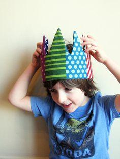 Kid Pretend & dress-up Crown on Etsy, $25.97