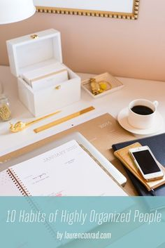 10 Habits of Highly Organized People