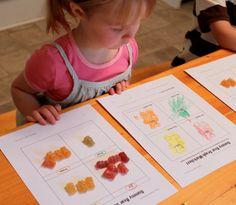 Delightful Learning: Corduroy {Before FI♥AR} Preschool Literacy, Preschool Books, Preschool Themes, Book Activities, Corduroy Activities, Corduroy Book, Teaching Themes, Teaching Aids, Sorting Colors
