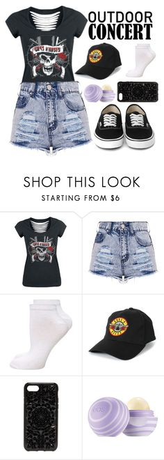 """Guns n' Roses Fan #2"" by xxmonnyxx on Polyvore featuring Dorothy Perkins, Felony Case, 60secondstyle and outdoorconcerts"